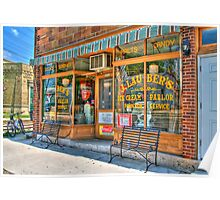 Ice Cream Parlor Poster