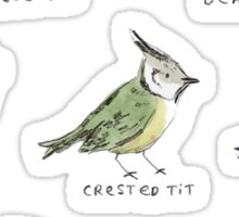 The Tit Family Sticker
