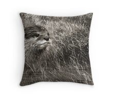 At One With Nature #4 Throw Pillow