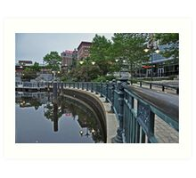 Providence Reflections Art Print