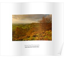 Sutton Bank, North Yorkshire Moors Poster