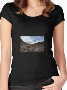 West Ruggedy Dune Women's Fitted Scoop T-Shirt