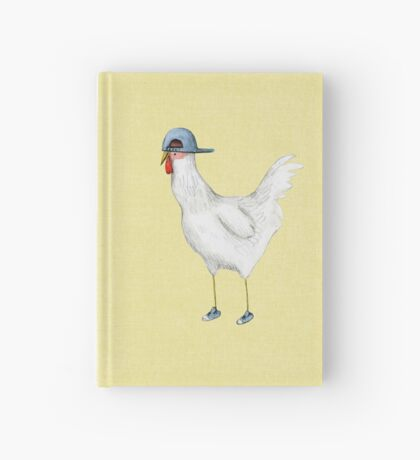 Spring Chicken Hardcover Journal