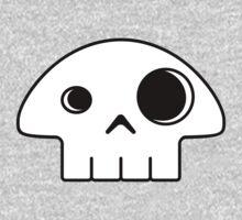Mushroom Skull One Piece - Long Sleeve
