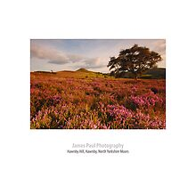 Hawnby Hill, Hawnby, North Yorkshire Moors by James Paul
