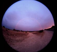 Double Rainbow,Eyre Peninsula,South Australia,2005 by muz2142