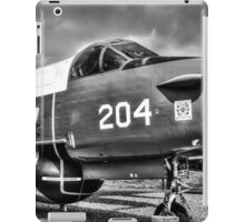 Vintage Fighter Aircraft Lockheed Neptune (Mono) iPad Case/Skin