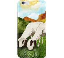 Mountain goats iPhone Case/Skin