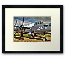 Vintage Fighter Aircraft - Lockheed Neptune Framed Print