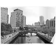 Providence Waterfront RI Poster