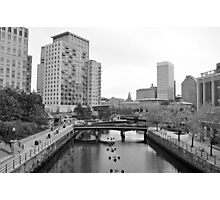 Providence Waterfront RI Photographic Print