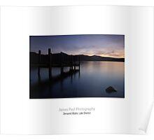 Derwent Water, Barrow Bay, Keswick, Lake District Poster