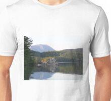 Mount Katahdin From Rainbow Lake Unisex T-Shirt