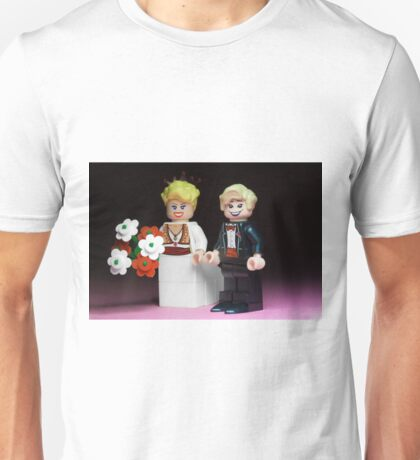 Lego Bride and Groom Unisex T-Shirt