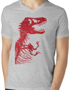Rusty Rex Mens V-Neck T-Shirt