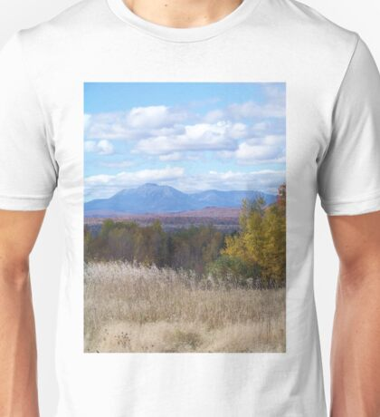 Mount Katahdin from Stacyville 8 Unisex T-Shirt