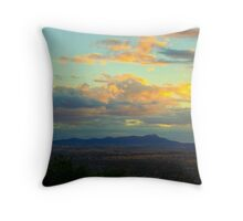 The City of Tamworth at Sunset II, NSW, Australia Throw Pillow