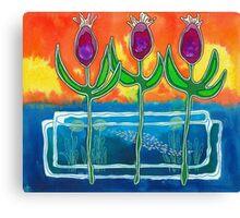 Deepwater Pond Canvas Print