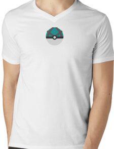 Net Ball Mens V-Neck T-Shirt