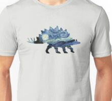 VanGogh-o-Saurus Unisex T-Shirt