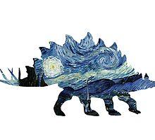 VanGogh-o-Saurus by JurassicArt