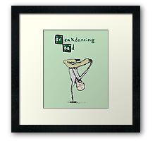 Breakdancing Bad Framed Print