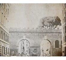 le mura aurelie Photographic Print