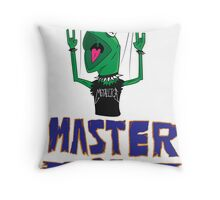 Master Of Muppets Throw Pillow