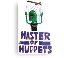 Master Of Muppets Metal Print