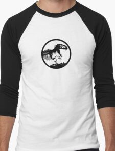 Indominus Rex - Logo Men's Baseball ¾ T-Shirt