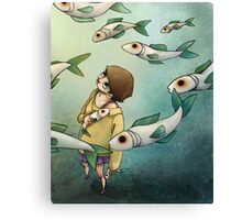 Fish Ghost Canvas Print