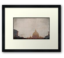 and then God said..... Framed Print