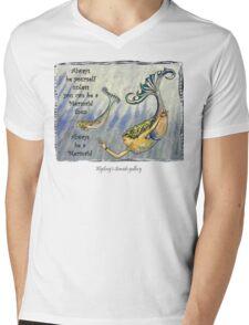 M 12 Mens V-Neck T-Shirt