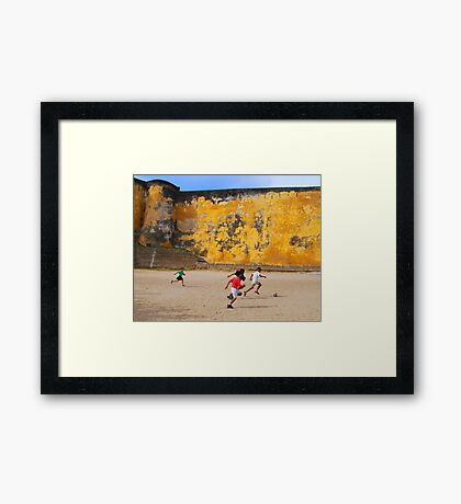 World Cup 2010 Framed Print