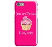 My Cupcake - Pink version iPhone Case/Skin