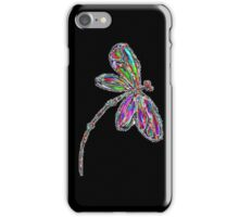 Dragonfly iPhone Case Neon iPhone Case/Skin
