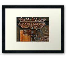 Gearing Up the Mill Framed Print