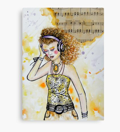 The Music in Me Canvas Print
