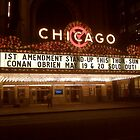 Chicago Theatre with Conan! by artsmithstudios