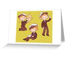 captain martin 'cutie' crieff Greeting Card
