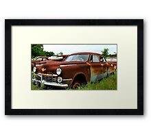 Metal Decay Land Cruiser Framed Print