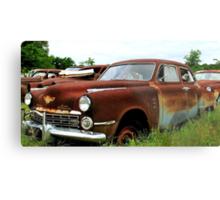 Metal Decay Land Cruiser Metal Print