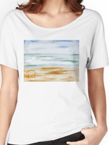 BEACH HUT Women's Relaxed Fit T-Shirt