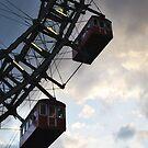 Worlds Oldest Ferris Wheel in Vienna, Austria by Laura Cooper