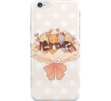 bearlock bouquet iPhone Case/Skin