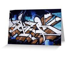 Pape Graffiti Greeting Card
