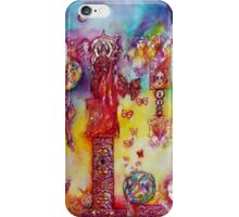 GARDEN OF THE LOST SHADOWS ,FAIRIES AND BUTTERFLIES iPhone Case/Skin