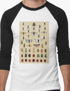 Entomology Insect studies collection  Men's Baseball ¾ T-Shirt