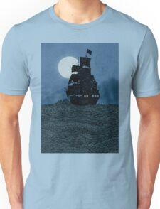 Sailing Under The Moon Unisex T-Shirt