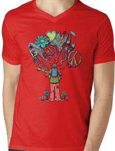 Psychedelic Soul Songs  Mens V-Neck T-Shirt
